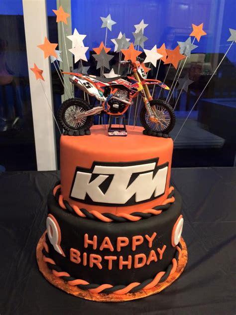 Ktm Bike Cake Ktm Birthday By