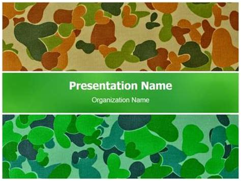 Camouflage Powerpoint Template Reboc Info Camouflage Powerpoint