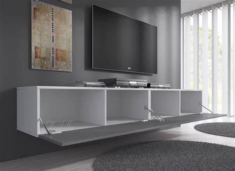 tv meubel flame tv meubel flame grijs wit 200 cm meubella