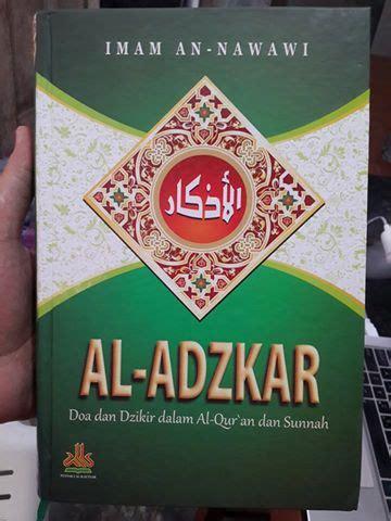 Diskon Pengantar Studi Ilmu Al Qur An Cover buku al adzkar doa dan dzikir dalam al qur an dan sunah toko muslim title