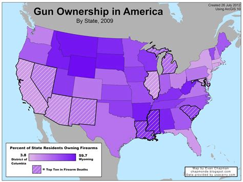 state with the most owners guns violence again jayman s