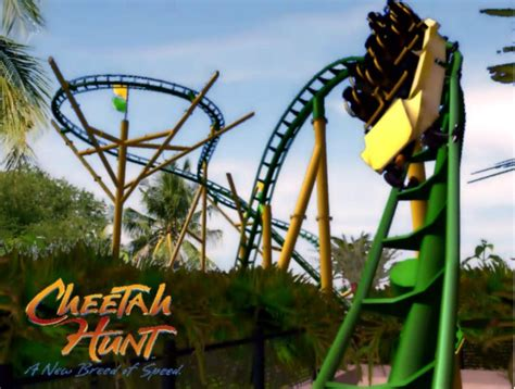 Busch Gardens Cheetah Hunt by Cheetah Hunt Busch Gardens Project Rct3