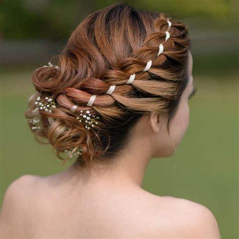 Wedding Hair Medium Length Braid by 25 Effortless Updos For Medium Length Hair Hairstyle For