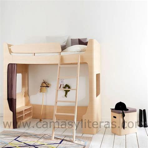 cama alta cama alta sofia escalera en el lado derecho camas y