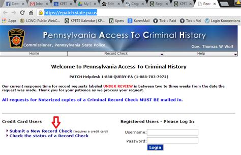 Pa Criminal Record Check Epatch Bg Check Help Keystone Pet Enhanced Therapy Services