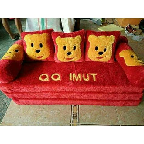 Sofa Bed Rasfur Karakter Harga sofa bed karakter minion baci living room