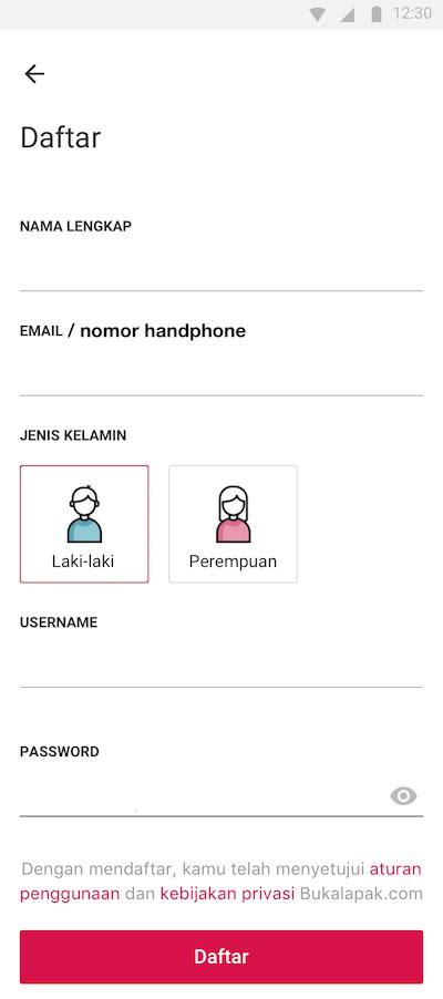 bukalapak daftar tanya jawab cara daftar dengan nomor handphone bukalapak