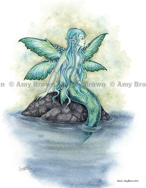 mermaid fairy 17 best images about mermaid artwork brown on pinterest