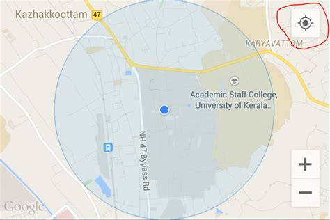 my location android android enable my location icon googlemap v2 stack overflow