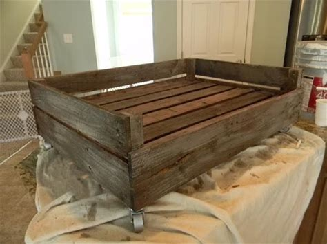 dog bed plans dog bed made from pallets