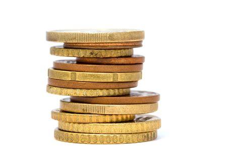 photo gratuite pi 232 ces de monnaie or empil 233 s image