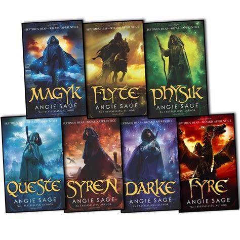 Septimus Heap 6 Darke Oleh Angie septimus heap angie 7 books collection darke syren