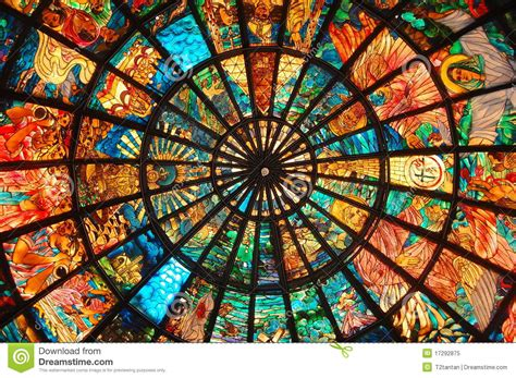 Architecture Design Plans by Stained Glass Art Royalty Free Stock Photo Image 17292875