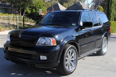 buy car manuals 2005 lincoln navigator interior lighting buy used 2005 lincoln navigator base sport utility 4 door 5 4l triple black custom 8 seat in