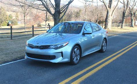 Hybrid Cars Kia 2017 Kia Optima Hybrid Review