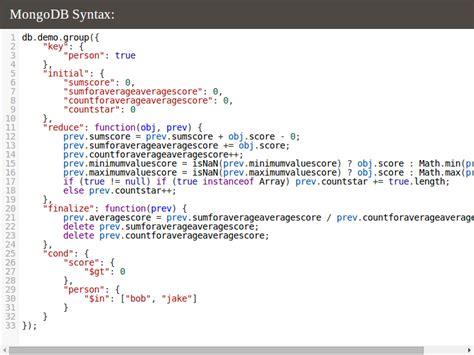 tutorialspoint nosql tutorialspoint html phpsourcecode net