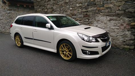 gold subaru legacy gallery oz racing