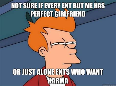Perfect Girlfriend Meme - not sure if every ent but me has perfect girlfriend or