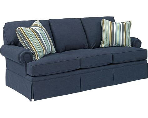 blue plaid sleeper sofa broyhill plaid sofa refil sofa