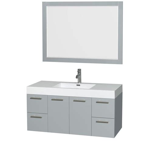 wyndham collection wcr410048esar amare 47 wyndham collection amare 47 in w x 21 in d vanity in