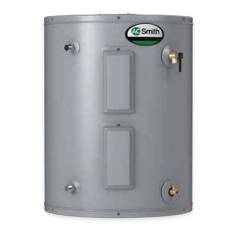 AO Smith ENJ 40 Gallon ProMax Residential Electric Water Heater Lowboy Side Connect Model