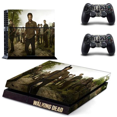 Ps4 Controller Stickers Gamestop by Walking Dead Vinyl Skin Decals Cover For Sony Playstation