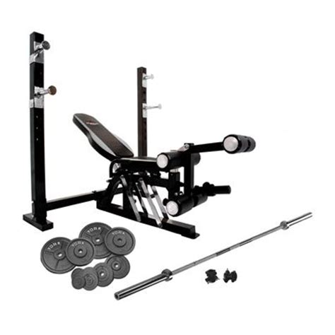 weights bench and weights set bruce lee dragon olympic weight bench and 140kg cast iron