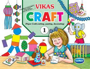 vikas craft a series of 2 books creative toys