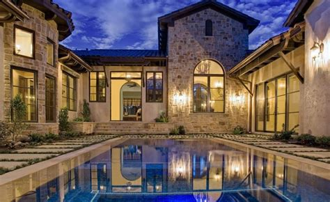 florida house plans with courtyard pool fresh