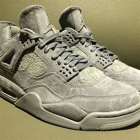 Air 4 Cool Grey Release by Kaws Air 4 Cool Grey 930155 003 Release Info Sneakerfiles