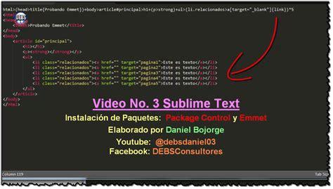 primer sublime text v2ex tutorial video tutorial sobre sublime text hechos por
