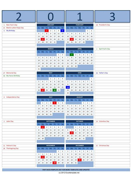 calendar 2013 template calendar 2013 with usa holidays page 2 search results