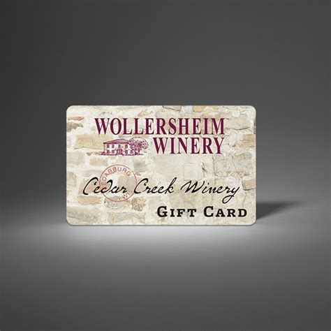 Winery Gift Cards - wollersheim winery gift card wollersheim winery wollersheim distillery