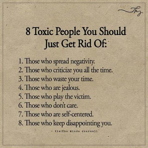 8 Toxic People You Should Just Get Rid Of: The Minds Journal