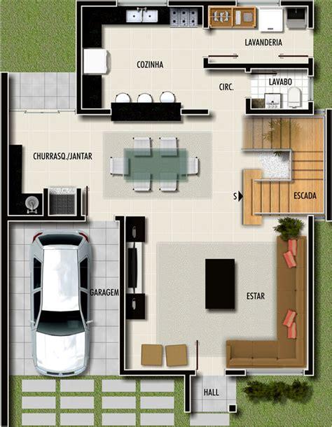 plantas de casas plantas de casas modernas dicas e modelos