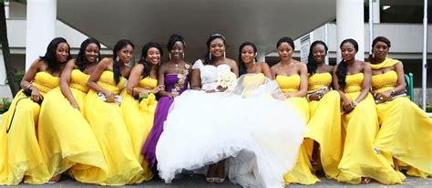 Yellow themed weddings  Yellow wedding ideas  Yellow real