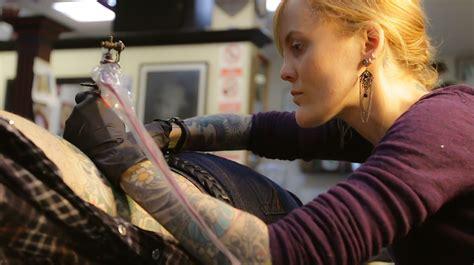 tattoo artists make female tattoo artists make their mark in oakland oakland