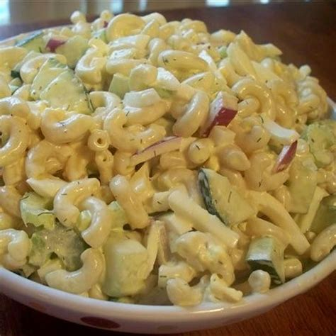 macaroni egg salad fabulous food pinterest