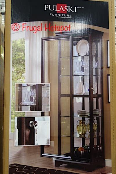 pulaski curio cabinet costco costco pulaski sliding door display cabinet 369 99