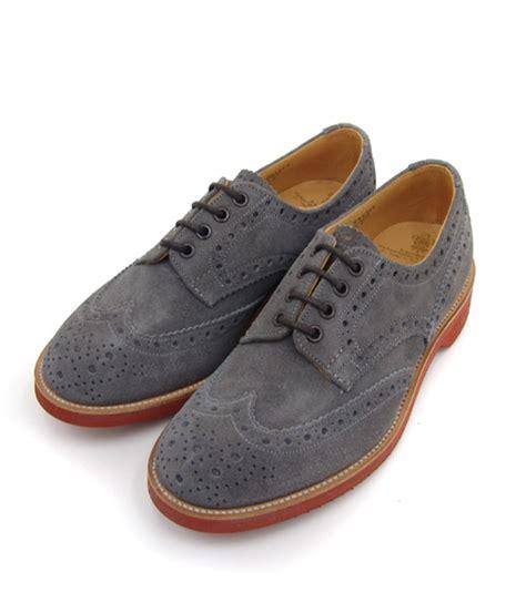 grey oxford shoes trickers grey suede oxfords pinstripe magazine