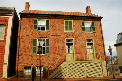 stonewall jackson house in va a photo on
