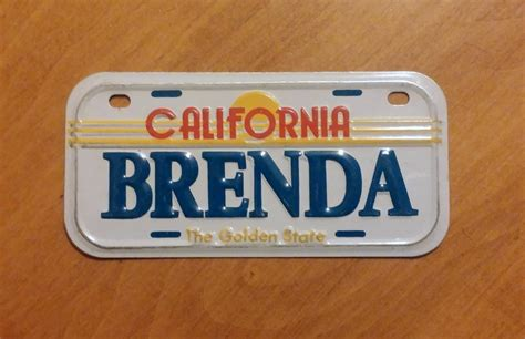 what to do with license plates when selling a car in illinois california golden state mini bike license plate with name