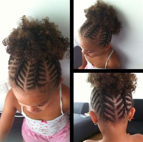 25  bästa Hairstyles for black kids idéerna på Pinterest