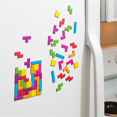 Tetrius Magnet Set by Tetris Magnet Set Thinkgeek