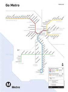 La Metro Map by La Metro Map
