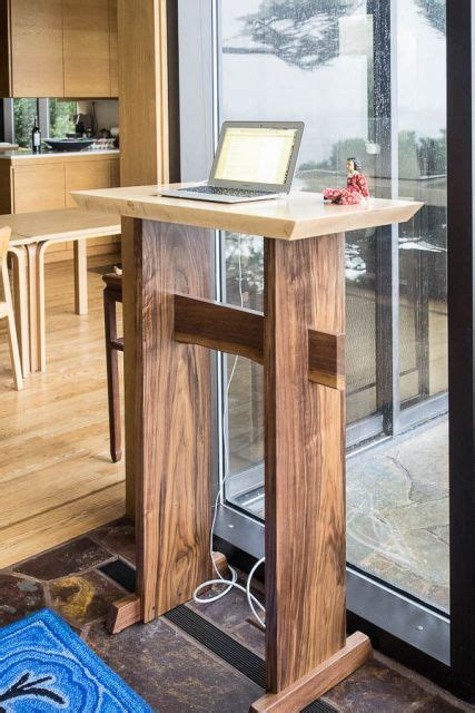 standing writing desks best 20 minimalist home office furniture ideas on