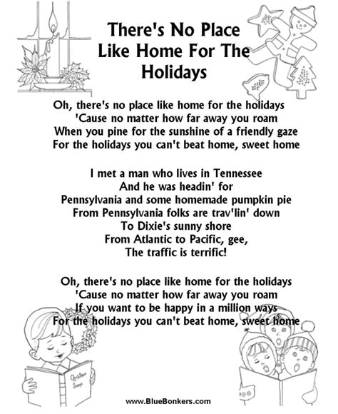 bluebonkers christmas lyrics home for the holidays lyrics 28 images cyndi lauper feat norah jones home for the holidays