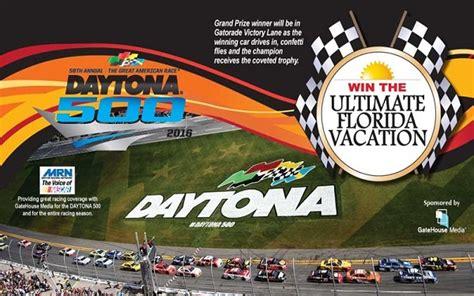 Daytona 500 Sweepstakes - win a vip trip to daytona 500 at windaytona com sweepstakesbible