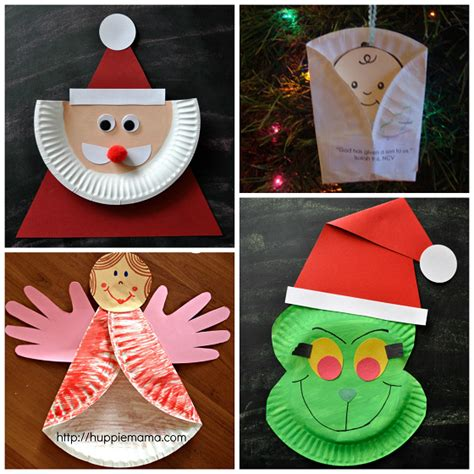 paper plate christmas art paper plate crafts for crafty morning