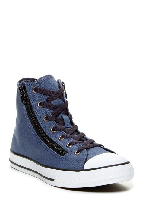 zipper sneakers converse chuck zipper high top sneaker